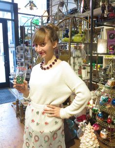 Be the hostess with the mostest at your Holiday party with treasures from store B vintage!