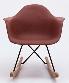 Prototype for Eames rocking chair, in the permanent collection of the Museum of Modern Art