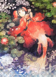 Koi. I can turn into a fish and was born in China,
