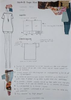oppskrift 'amphi' bluse — Maja Stabel