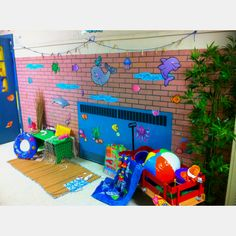 Under the sea in kindergarten!