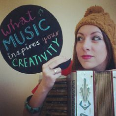 Do you have a soundtrack to your work? What kind of music inspires your creativity?