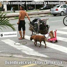 Por mais humanos assim!!!