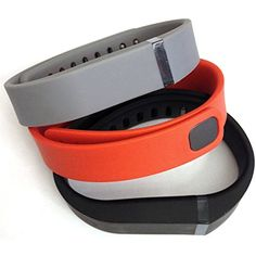 Set 3 Colors Large L 1pc Grey 1pc Black 1pc Red (Tangerine) Replacement Bands With Clasp for Fitbit FLEX Only /No tracker/ Wireless Activity Bracelet Sport Wristband Fit Bit Flex Bracelet Sport Arm Band Armband >>> Read more at the image link. (This is an affiliate link) #WellnessRelaxation