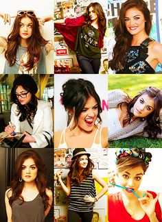 Best eyebrows and style ever!  -Lucy Hale <3