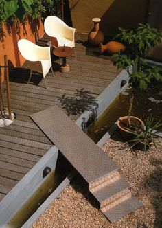This process looks good quality Shade Landscaping Shade Landscaping, Modern Landscaping, Outdoor Landscaping, Landscape Steps, Landscape Design, Garden Design, Landscape Architecture, Outdoor Stairs, Outdoor Rooms