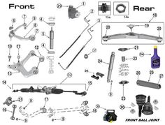 98 jeep cherokee 4 0 jeep fuel injector wire diagram 1000+ images about jeep liberty kj parts diagrams on ... #12