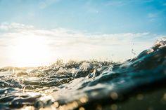 water, surface, wave, sea, beach,