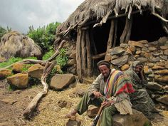 """""""Villagers from Semien Mountains""""    While trekking through the Semien Mountains of Ethiopia our guide was kind enough to bring us to his childhood village high up in the mountains.  Was amazing!"""