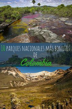 A un viaje a Colombia no debes perderte una visita a uno de los muchos hermosos parques nacionales. La mayoría de los viajeros visitan al parque más famoso, el Parque Tayrona. Pero no solo vale la pena visitar el Parque Tayrona. Aquí hay una lista de unos de los parques nacionales más bellos de Colombia. #colombia #viaje #viajar #travel #tayrona #elcocuy #losnevado #tuparro #Iguaque #Amacayacu #parque #americadelsur #suramerica