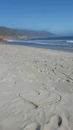 Beach in Big Sur, California