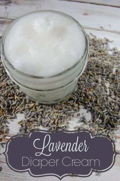 Making your own lavender diaper cream is not hard to do! Just two ingredients and a couple seconds of your time is all you need to make this great natural diaper cream! #lavender #diapercream #diaperrash #naturalparenting #naturalremedies #coconutoil Natural Baby, Natural Living, Natural Skin Care, Natural Kids, Herbal Remedies, Natural Remedies, Green Living Tips, Natural Parenting, Gentle Parenting