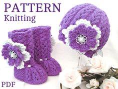 Knitting PATTERN Baby Booties Baby Shoes Patterns von Solnishko43