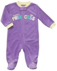Carter's Terry Snap - Purple Solid Daddy's Princess-6M Carter's. $7.99