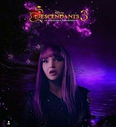 Dove Cameron as Mal in descendants 3 🤙 Disney Channel Descendants, Disney Descendants 3, Descendants Cast, Sofia Carson, Kid Movies, Disney Movies, Mal And Evie, China Anne Mcclain, Cami Mendes