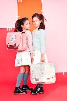 Beste vriendinnen schooltas