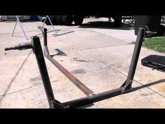 How to Build a ATV Log Hauler - YouTube