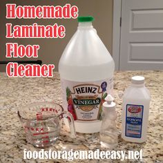 Homemade Household Cleaning Supplies