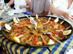 Paella in Murcia along the Coast
