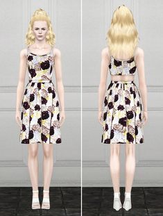 Summer dress by Rusty Nail - Sims 3 Downloads CC Caboodle