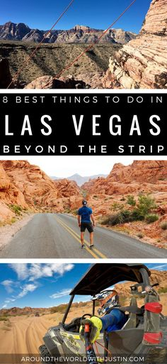 There's so much to do in Las Vegas. Beyond The Strip! If you love outdoor adventure then you've hit the jackpot! Check out the 8 Best Things To Do In Vegas all within an hour drive. Florida Keys, New Travel, Travel Usa, Cheap Travel, Canada Travel, Wyoming, Las Vegas Vacation, Travel Vegas, Vacation Ideas