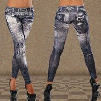 it's a legging,not jean,one size but stretchy The ultra - comfortable material , raise buttock and