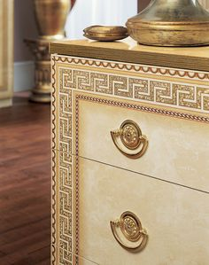 Made in Italy Quality High End Classic Furniture Set Classic Bedroom Furniture, Black Furniture, Bedroom Furniture Sets, Bedroom Sets, White And Gold Bedding, European Decor, Gold Palette, Elegant Centerpieces, Gold Bedroom