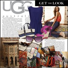 """""""Marrakech with UGG Australia"""" by soo-trendy ❤ liked on Polyvore"""