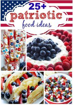 25   Amazing Patriotic Food Ideas