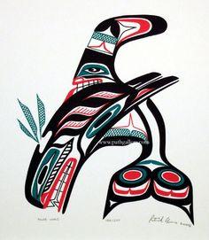 Amos, Patrick 'Killerwhale' - Northwest Coast Native Art