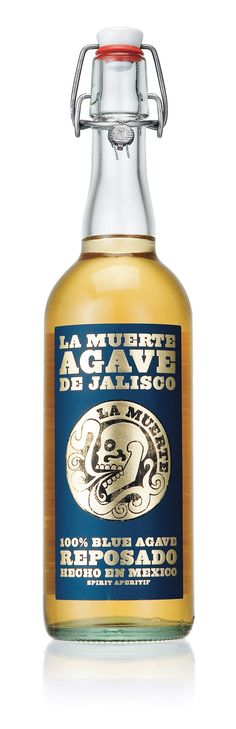 La Muerte Agave de Jalisco - Tequila   #packaging #bottledesign #tequila