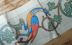 Celtic dragons Cross stitch pattern PDF . by rolanddesigns