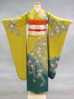 Japanese Kimono Tsujigahana ( flowers on a cross...:)  Adore that period :)