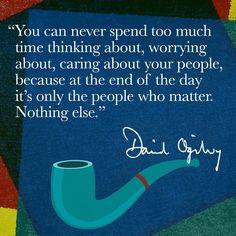 Ogilvy & Mather. #DavidOgilvy #Quote