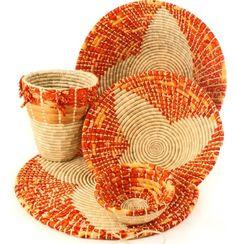 Swahili Modern Woven Baskets - really like these....