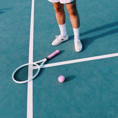 Pink tennis racket | VSCO | Isabel Sicat