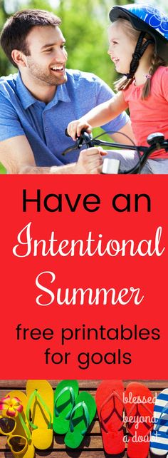 Make this the best summer ever. Have an intentional summer by each family member making three summer goals. Grab these free printables to keep track of your goals. School's Out For Summer, Summer Kids, 2017 Summer, Summer Activities For Kids, Fun Activities, Teaching Kids, Kids Learning, Boredom Busters For Kids, School Reviews