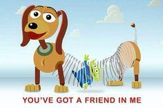 tienes un amigo Disney inspirado Lego Mini Figura Woody y Buzz Marco San Valentín ♡