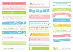 セット素材047 見出しいろいろ詰合せ Ppt Design, Web Design Tips, Brochure Design, Book Design, Layout Design, Graphic Design, Photoshop Illustrator, Infographic, Banner