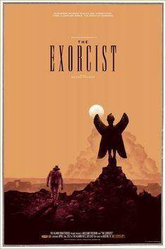 Exorcist movie poster alt art find Alternative movie posters Pazuzu