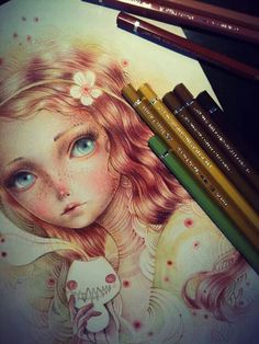 Pencil drawing by ania tomicka