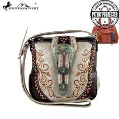 MW296G-8395 Montana West Concealed Carry Crossbody Bag