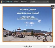 Slideshare de Gaby Ugalde y el arte colonial en Chiapas