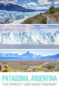 With its snow-capped mountain peaks and glacier-fed lakes, #Patagonia hiking trips and trekking adventures top many bucket lists for good reason. Here's the perfect itinerary for those who have one week to spend exploring this incredible region of #Argentina. #Travel | #SouthAmerica | #trek | #mountains