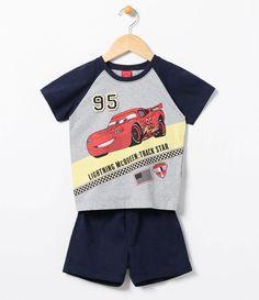 Pijama infantil  Longo  Estampado  Marca: Carros   Tecido: Meia malha  Composição Blusa: 100% algodão  Calça 97% algodão e 3% elastano     COLEÇÃO INVERNO 2017     Veja mais opções de    pijamas infantis.