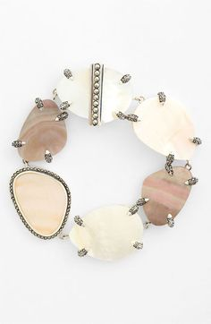 Judith Jack Mother-of-Pearl Bracelet available at #Nordstrom