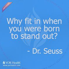 #WiseWords from the greatest Dr. of all time Yes! Stand out in the challenge! www.yorbestbody.com