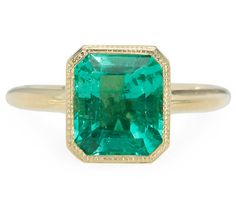 The Exclusive & Elusive Emerald Ring - The Three Graces