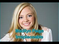 Irreplaceable Lyrics - Madilyn Paige - YouTube