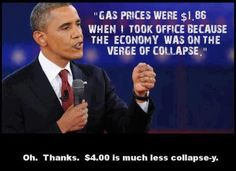 The only thing worse than what he says is that so many dummies buy it and put him back in the White House!!